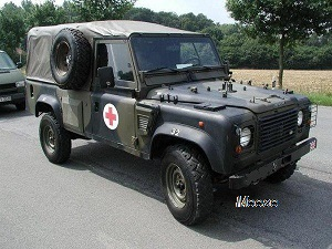 Landrover Defender 110 Ambulance 4x4